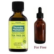 Thursday Plantation Tea Tree 100% น้ำมันสิวเย็นFlu Shrink Pore Arthritic Face Careน้ำมันหอมระเหยน้ำมันนวด