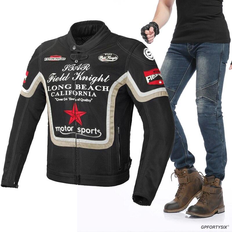 Летний дышащий сетчатый костюм для верховой езды, мотоциклетная куртка, костюм для мотокросса, куртка, штаны, мотоциклетная куртка, защитно