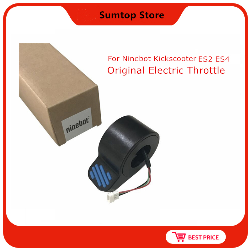 Original Ninebot Accessories Kit Electric Throttle Booster Accelerator Assembly for Kickscooter Ninebot ES1 ES2 ES3 ES4|Scooter Parts & Accessories| |  -
