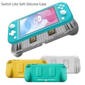 Мягкий силиконовый чехол для Nintendo Switch Lite, чехол для Nintendo Switch NS Lite, аксессуары, защитный чехол, прозрачная защита