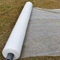10 м 0,006 мм многослойная пленка PE белая пластиковая пленка для защиты от мороза сохраняющая тепло пленка для защиты от сорняков