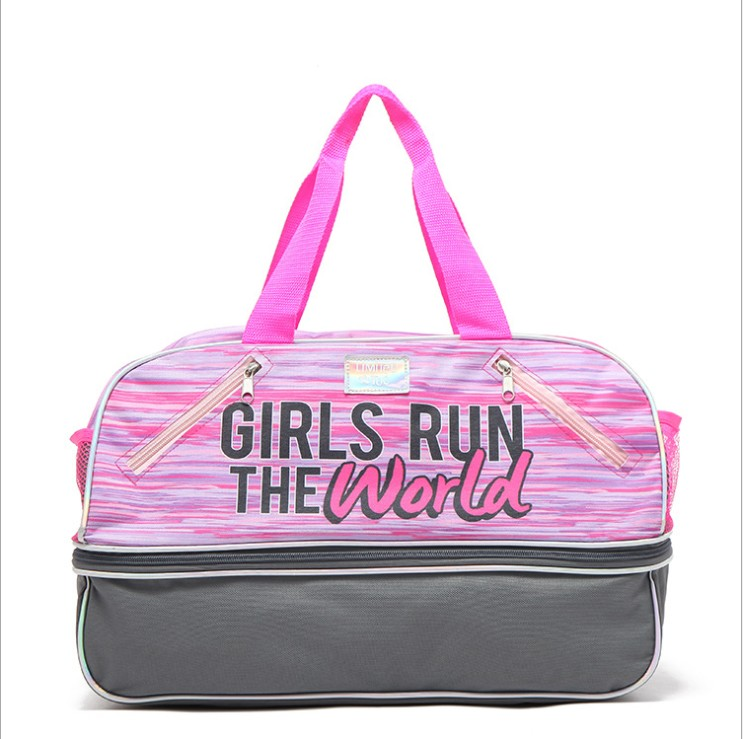 Sports Bag Short-distance Travel Bag Female Portable Large-capacity Luggage Bag Portable Boarding Folding Travel Bag Gym Bag