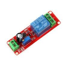 12V NE555 Oscillator Delay Adjustable Timer Relay Switch Module 0-10 Second X6HB ne555 0 10s adjustable module dc 12v delay relay shield timer switch