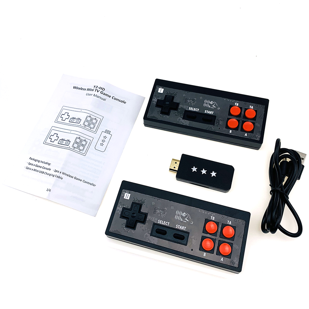 cheapest HAMY TV Game Player and dendy video game console 53 classic games include 500 games play card PAL or NTSC can choose 110v-220v