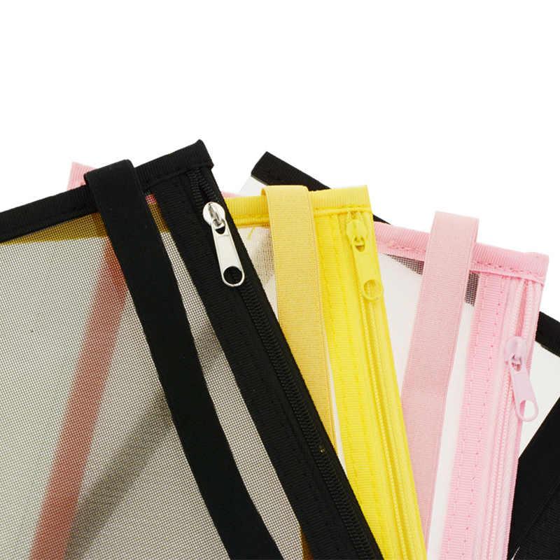 A5 Paddestoel Gat Notebook rits Zak B6 Boek Opbergtas Pen Zak Bestand Disc Binding Hand Account Accessoires handige opslag