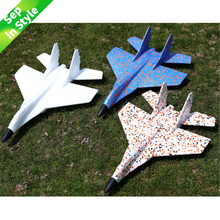Hand Throw Flying Glider Fighter Planes Foam Aeroplane Model Party Bag Fillers Plane For Kids Game DIY Toys