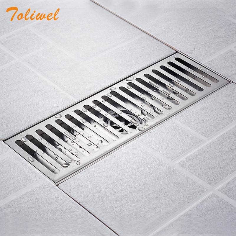 Grille Shower Drain Floor Trap