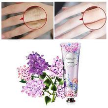 花ハンドクリーム10種類栄養乾燥防止抗凍傷明るく引き締めユニセックス花エキススキンケア30グラム