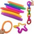 Kinder Zappeln Spielzeug Autismus Sensorische Rohre Stress Relief Frühe Entwicklung Pädagogisches Klapp Spielzeug