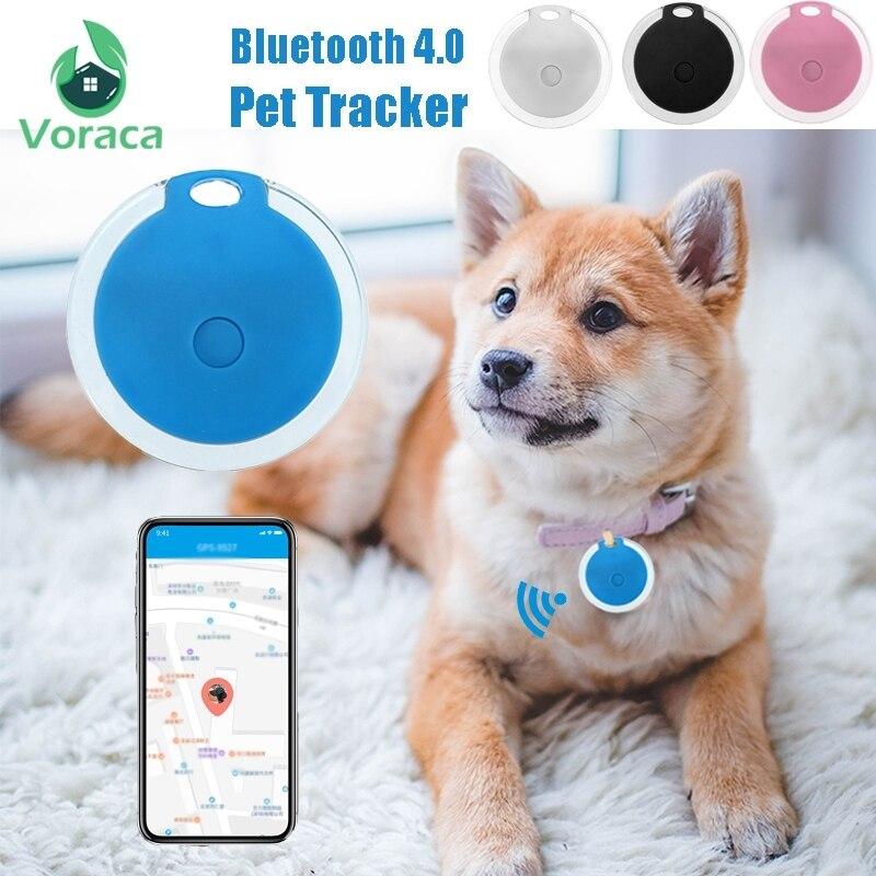 Rastreador inteligente de Antipérdida con Bluetooth 4,0, rastreador de mascotas con autorretrato, localizador con alarma para mascotas, localizador GPS para perros y gatos Cable de carga Universal de 3 pines y 5mm con Clip, compatible con relojes inteligentes, pulseras inteligentes Puerto USB de carga cargadores de respaldo de emergencia