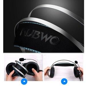 Image 2 - Ekupuz N2 コンピュータステレオゲームヘッドホンイヤホンヘッドセットゲーマー携帯電話 PS4 xbox pc のヘッドフォンマイクイヤフォン