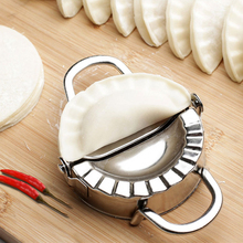 3pcs/set Stainless Steel Round Dumplings Wrappers Molds Set Cutter Maker Tools Round Cookie Pastry Wrapper Dough Cutting Tool 14pcs stainless steel round dumplings wrappers molds set cutter maker tools bakeware cookie tool wholesale