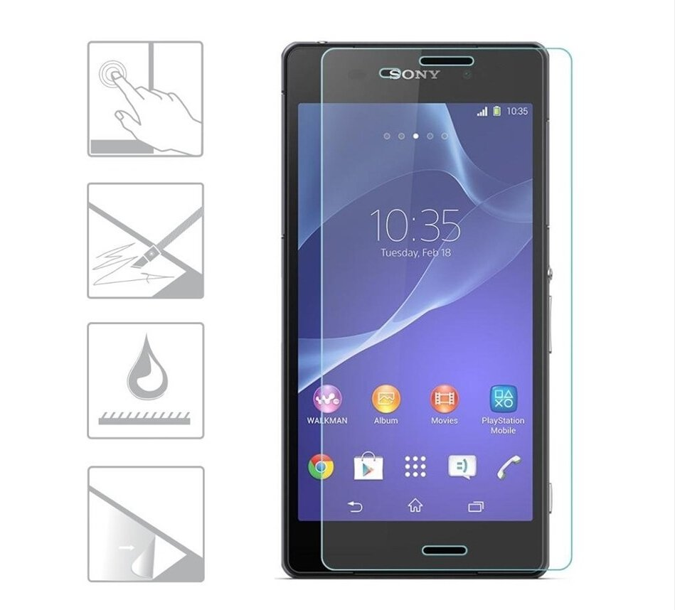 9H Premium Tempered Glass For SONY Xperia Z3 Z4 Z5 Screen Protector D6603 D6643 D6653 Anti Explosion Guard Protective Glass Film