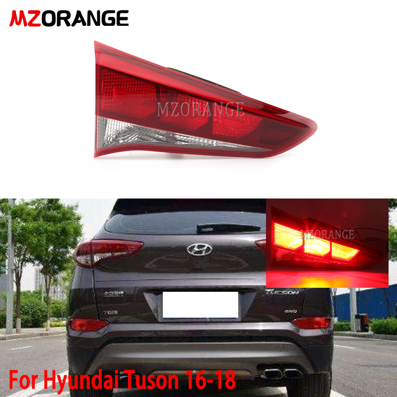 MZORANGE Car Tail Light For Hyundai For Tucson 2016 2017 2018 Taillight Rear Reverse Brake Fog Lamp Accessories
