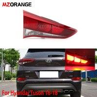 MZORANGE Car Tail Light For Hyundai for Tucson 2016 2017 2018 Taillight Rear Reverse Brake Fog Lamp Accessories Rear brake light