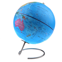 10inch World Globe – Rotating Magnetic Pins Earth Design Earth Map Ocean Geography School Supplies Desktop Home Decor