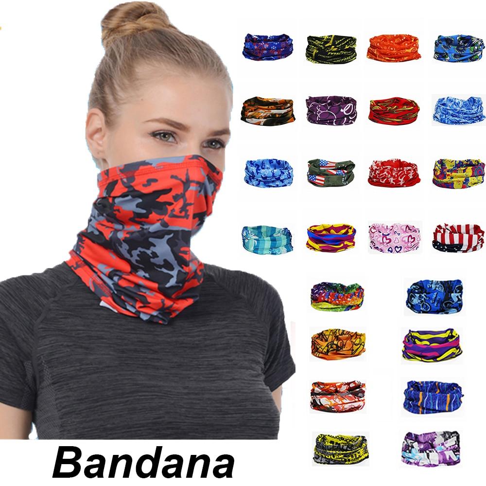 Scarf Headwear Tube-Bandana Sunshade-Collar Gaiter Head-Face-Neck Outdoor Fishing Sports