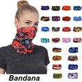 Модный мужской женский шейный воротник от солнца для головы, лица, гетры, бандана-труба, шарф, спортивные головные уборы, шарф, пыленепроница...
