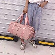 Nylon Sports Training Gym Travel Bag waterproof travel bag big cabin luggage Bags color weekend duffle bags sac de voyage 2021