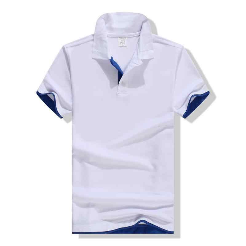 Grande taille S-3XL flambant neuf hommes Polo haute qualité hommes 65% coton à manches courtes chemise marques maillots été hommes polos