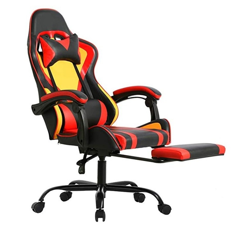 Hot Sale Transformers Theme Team Racing Swivel Chair With Wheels High Back Big Size Computer Gaming Chair