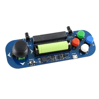 Waveshare Gamepad Module for BBC Micro:Bit Gamepad Expansion Module Joystick and Buttons Board фото