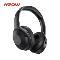 Cuffie Wireless Mpow H17 aggiornate cuffie Bluetooth con cancellazione attiva del rumore con ricarica rapida 30 ore di riproduzione ANC per i viaggi