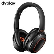 פעיל רעש ביטול ANC אוזניות אלחוטי Bluetooth V5.0 על אוזן נייד אוזניות אוזניות עם מיקרופון עבור טלפונים מחשב