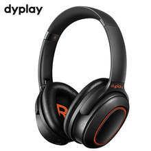 Active Noise Cancelling ANC Headphones Wireless Bluetooth V5.0 Over ear Portable Headset Earphones With Mic For Phones Computer