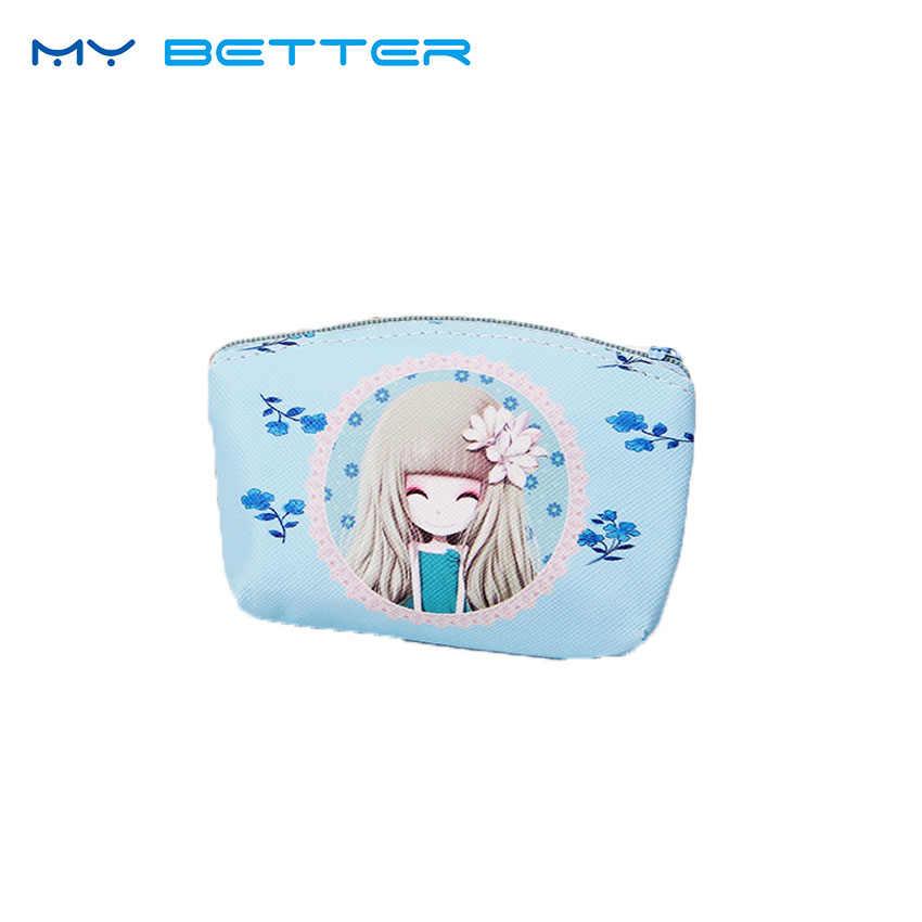 Fille porte-monnaie femmes portefeuilles petit mignon dessin animé Animal porte-carte clé sac sacs d'argent pour filles dames sac à main enfants enfants