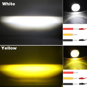 Image 5 - 2 inch LED Work Light 8D lens Driving Light led fog lights For Car 4x4 offroad SUV ATV Tractor Boat Trucks Motorcycle 12V 24V