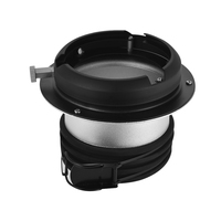 Profoto to Bowens Mount Speedring Ring Adapter Converter for Studio Light Strobe Flash