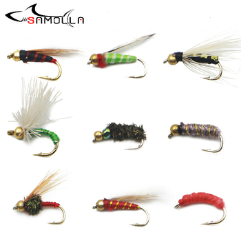 Flying Fishing Lure Weights 1.5g Fly Fishing Flies Isca Artificial Accessories Fly Tying Materials Pesca Senko Fish Bait image