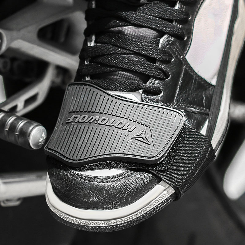 Motorcycle Shoes Protector Motorbike Moto Gear Shifter Men Shoe Boots Protector Shift Sock Boots Cover