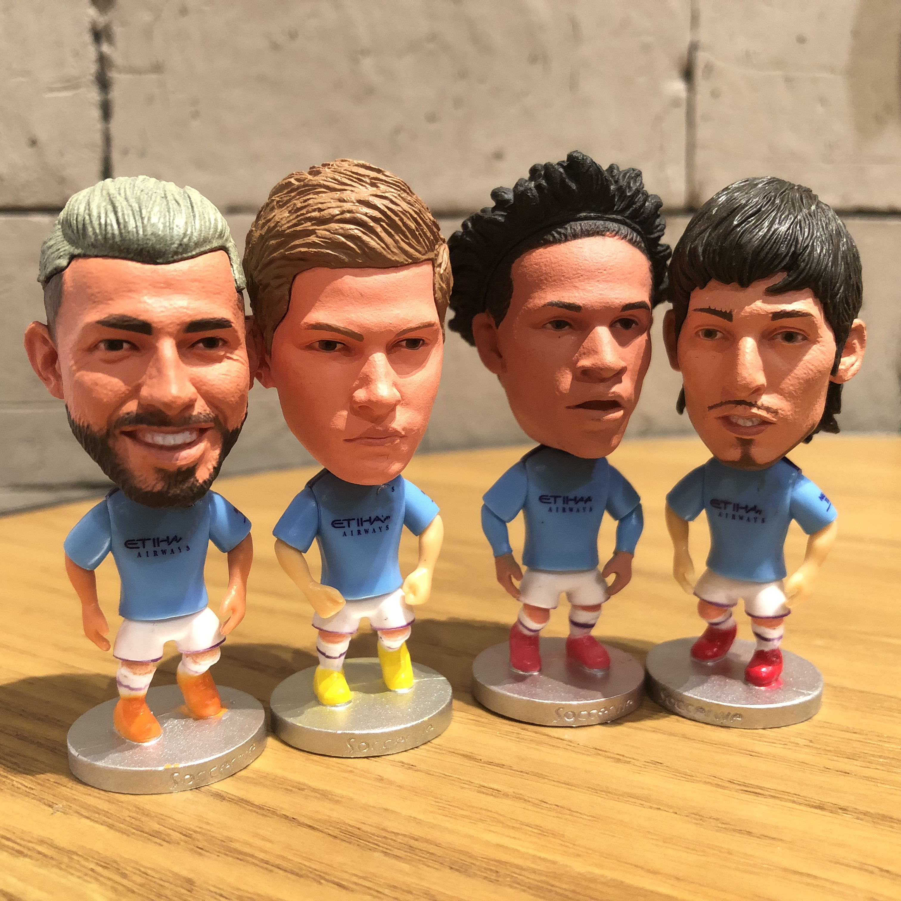 Silva/Sterling/Aguero Resin Doll Action Figure 6.5 Cm Mini Toy Collectible Gift