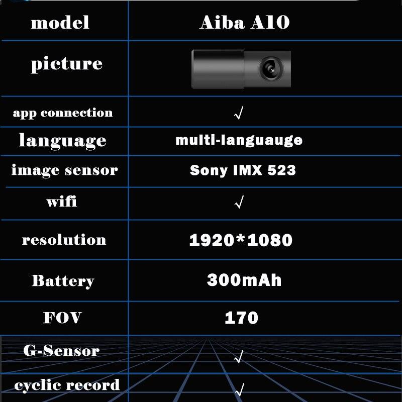 Автомобильный камера Full HD 1080P видеорегистратор на 170 градусов видео регистраторы для автомобилей ночное видение g-сенсор Wi-Fi dvr видеорегистр...