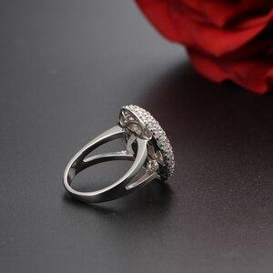 Image 4 - Mooie Twilight Saga Ring Bella Engagement Ringen Voor Vrouwen 925 Sterling Zilveren Replica Fine Jewelry Drop Schip Gratis Graveren