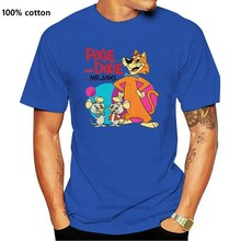 Pixie And Dixie And Mr. Jinx T Shirt 1970'S Saturday Morning Cartoon Graphic Tee Shirt