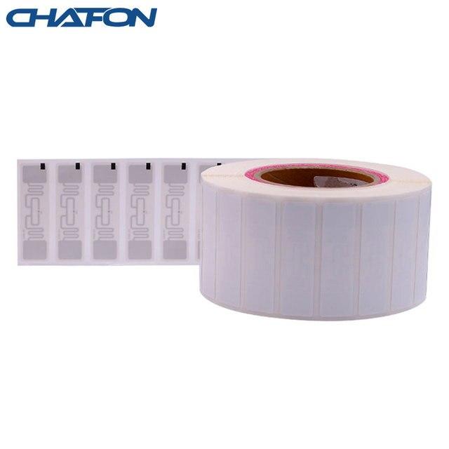 50 Stuks 73.5*21.2Mm Rfid Gen2 Uhf Papier Tag Met U8 Chip Gebruikt Voor Warehouse Management