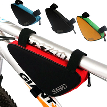 Bike Bicycle Triangle Frame Bag Storage Pack Accessories Road Mountain Cycling Strap Saddle Pouch Bags