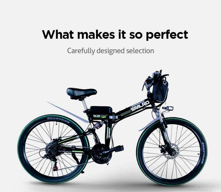 MX300 SMLRO 21 speed high quality electric bike/electric bicycle Carbon Steel 350W 48V e bike 3