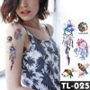 Dreamcatcher flower tattoos Bracelet Temporary Tattoo Stickers translated tattoos Girl Chest Arm Flash Fake Tattoo Women Waist