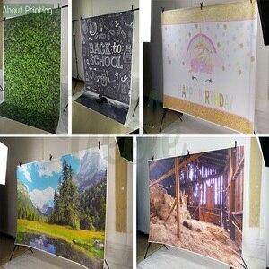 Image 2 - Photo Studio Propsฉากหลังอาคารเวกเตอร์Boom Blastการ์ตูนพื้นหลังไวนิลสำหรับเด็กBirthday Partyตกแต่ง