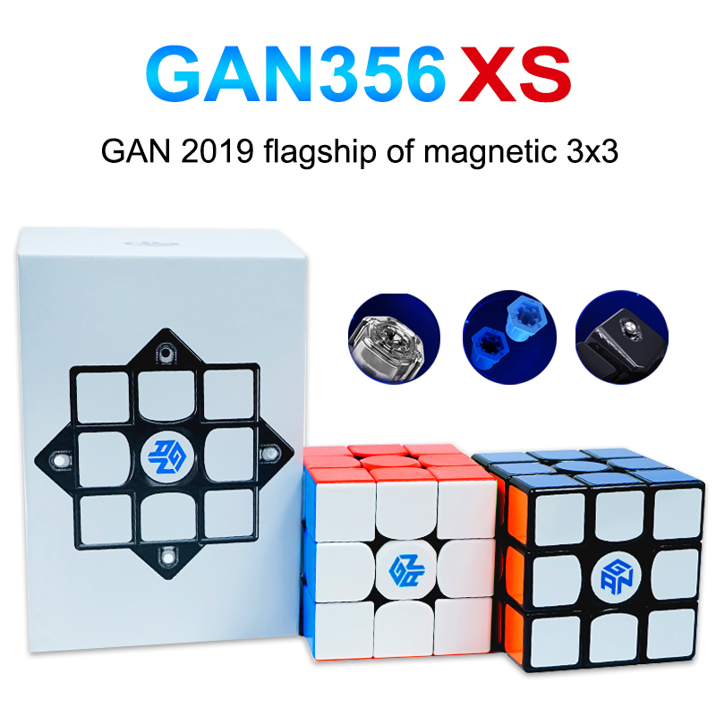 Gan Cube GAN356 X S Magnetic Magic Speed Cube GAN356XS Professional Gan 356 XS Magnets Puzzle Cube Gans Cubes