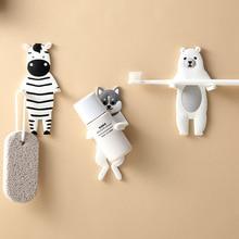 Decorative Key-Holder Wall-Hook Cartoon-Animals Free-Nail
