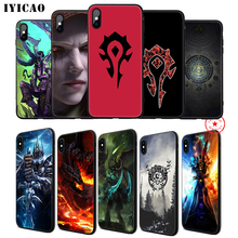 IYICAO World Of Warcraft Soft Phone Case for iPhone 11 Pro XR X XS Max 6 6S 7 8 Plus 5 5S SE Silicone TPU 7 Plus iyicao airplane red space soft phone case for iphone 11 pro xr x xs max 6 6s 7 8 plus 5 5s se silicone tpu 7 plus