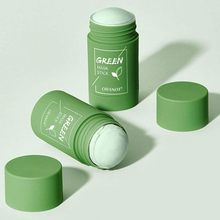 Cleansing Green Stick Green Tea Stick Mask Purifying Clay Stick Mask Oil Control Anti-acne Eggplant Skin Care Whitening