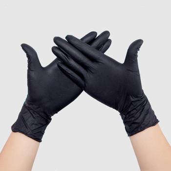 100 50Pcs jednorazowe rękawice PVC biały czarny niebieski przezroczyste uniwersalne rękawice winylowe do zmywania naczyń kuchnia praca ogród czyszczenie tanie i dobre opinie 140g Disposable Latex Gloves Cienkie Mikrofibra Transparent White Blue Black 50Pcs 100Pcs Palm width 6 5-7 5cm Palm width 7 5-8 5cm