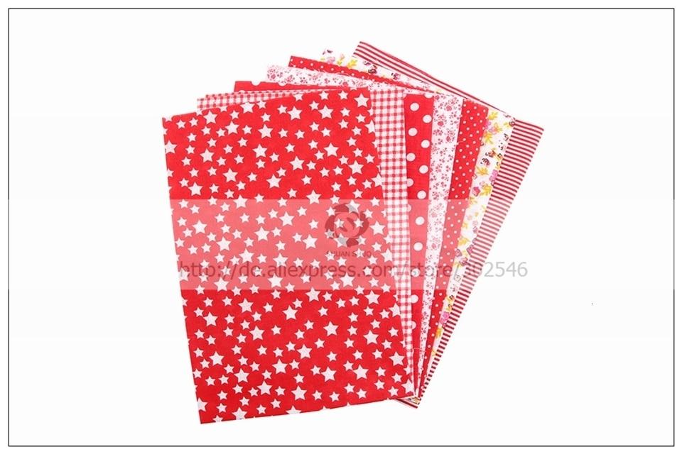 Ha49426956c594dc5a64fdffb5707e404C 7pcs 24x24cm Mixed Printed Cotton Sewing Quilting Fabrics Basic Quality for Patchwork Needlework DIY Handmade Cloth
