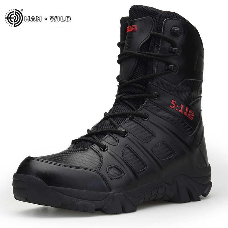 e52fbf4a8ac ATZB Military Tactical Combat Outdoor Sport Army Men Boots Desert ...